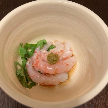 ムキ甘エビ(生食用) グリーンランド産 ミニサイズ50尾入り 2パックセット(冷凍)