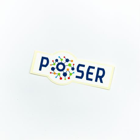 ポーザーフィットMサイズステッカー