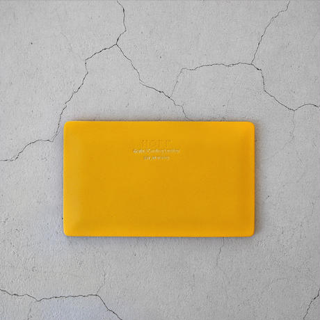 HOFF Card Case A YELLOW