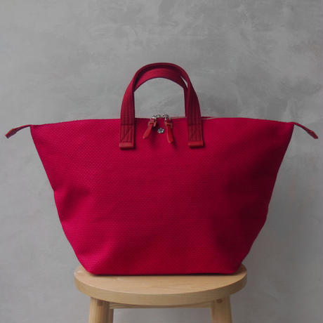 CaBas N°32-Bowler bag medium Red/Red