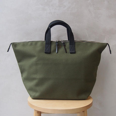 CaBas N°32-Bowler bag medium Khaki/Black