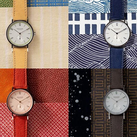 NOMOS Glashütte /「Four Seasons」Tangente「春」35mm / TN35HARU / 日本限定モデル (2020年3月発売)