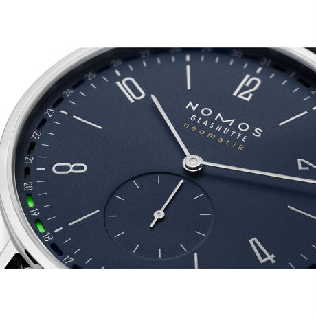NOMOS Glashütte / Tangente neomatik 41 update midnight blue / TN161011BL2