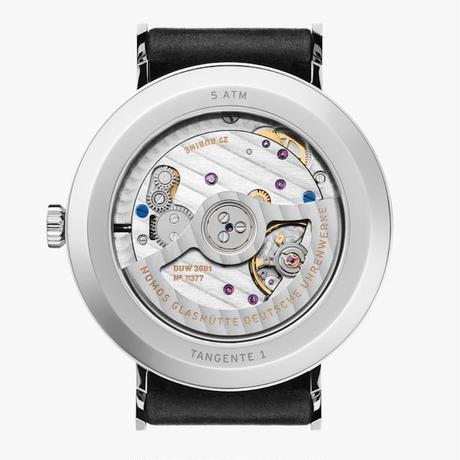 NOMOS Glashütte / Tangente neomatik 39 silvercut / TN130011SC239