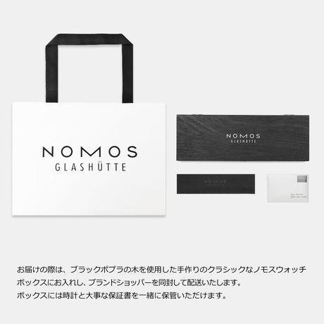 NOMOS Glashütte / TANGENTE  38mm  / TN1B1W2L