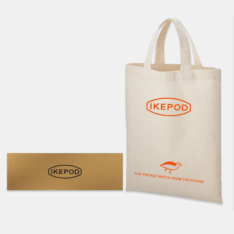 IKEPOD / Chronopod / IPC013SILW /  013 White Horses