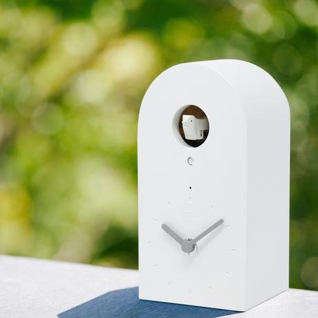 【今だけ割引】スマホで鳴らせる鳩時計「OQTA HATO しろ(Wi-Fi)/オクタ ハト シロ」