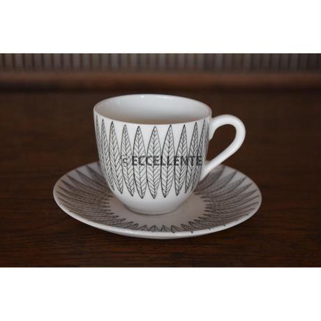 【北欧ヴィンテージ】【グスタフスベリ】【スティグ・リンドベリ】サリックス コーヒーカップ&ソーサー