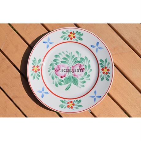 【東欧ヴィンテージ】【ホロハーザ】フォークロア ハンドペイント飾り絵皿