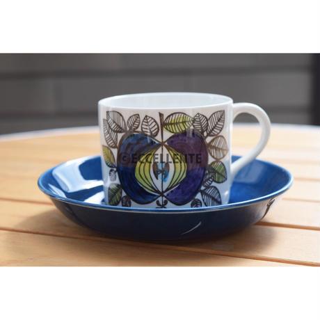【北欧ヴィンテージ】【ロールストランド】エデン コーヒーカップ&ソーサー