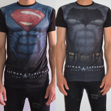 【プライマーク】PRIMARK x BATMAN vs SUPERMAN バットマンvsスーパーマンTシャツ