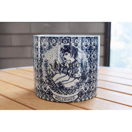 【北欧ヴィンテージ】【ニュモレ】【ビョルン・ヴィンブラッド】【アウトレット】鉢カバー おこりんぼ