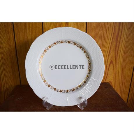 【アンティーク洋食器】【ベルリン王立磁器製陶所】ハンドペイント K22金彩コーヒーカップトリオ