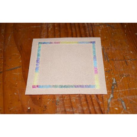 【ECCELLENTE】レザーコースター 2枚セット