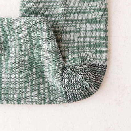 TANSU【100% PURE COTTON ARTISAN SOCKS /vegetable green】