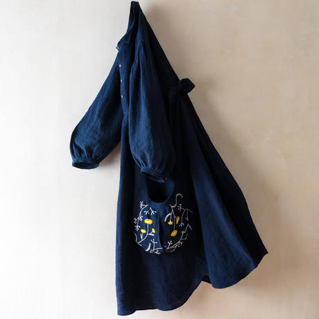 TANSU【Embroidery One-piece Dress】