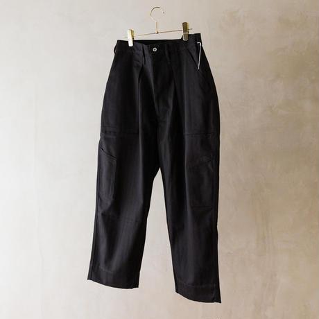 TUKI #0111【combat pants】black、moss green