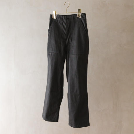 TUKI #0110【baker pants】moss green