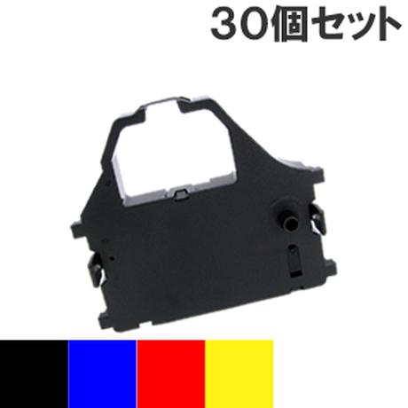 LZ24CL カラー4色 インクリボン カセット STAR(スター精密) 汎用新品 (30個セットで、1個あたり1500円です。)