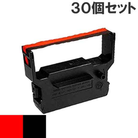 IR-61  ( RB ) レッド&ブラック インクリボン カセット CITIZEN (シチズン) 汎用新品 (30個セットで、1個あたり800円です。)