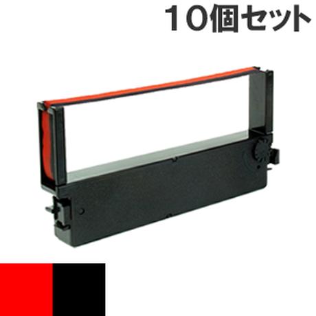 IR-41  ( RB ) レッド&ブラック インクリボン カセット CITIZEN (シチズン) 汎用新品 (10個セットで、1個あたり900円です。)