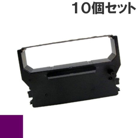 RC300 ( P ) パープル インクリボン カセット STAR(スター精密) 汎用新品 (10個セットで、1個あたり850円です。)