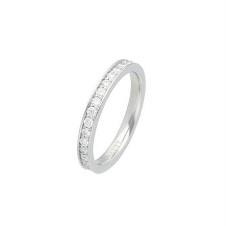 フルエタニティリングPt ( Full eternity ring Pt900)