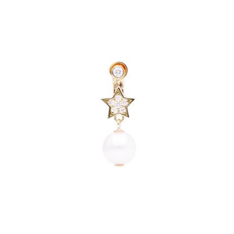 スターパールイヤリング(Star pearl earring)