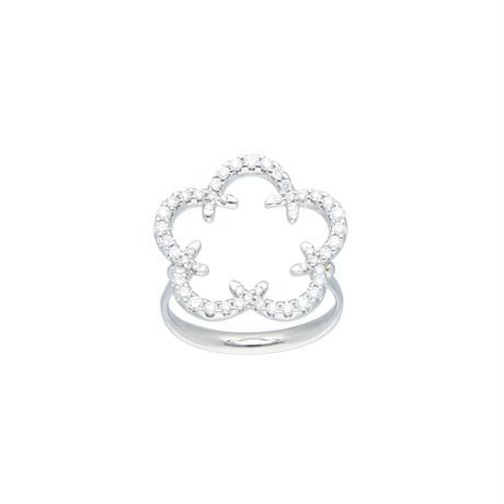桔梗紋リング (Kikyo Crest ring Pt900)
