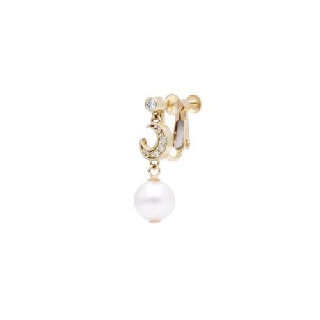 ムーンパールイヤリング(Moon Pearl  Earring)