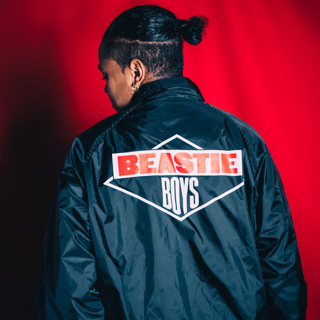 BEASTIEBOYS LOGO COACH JACKET/RT-BE008