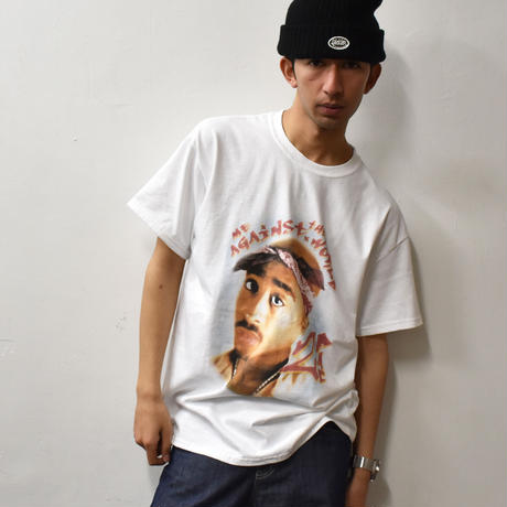 2PAC ME AGAINST THE WORLD PHOTO S/S TEE/RT-TU039/i