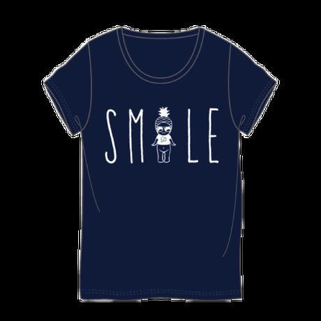 スマイルTシャツ ネイビー / SMILE T-Shirt Navy