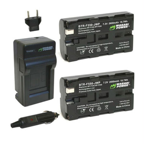 edelkrone x2 NP-F batteries w/ charger/エーデルクローン NP-F バッテリー 2個 + チャージャー