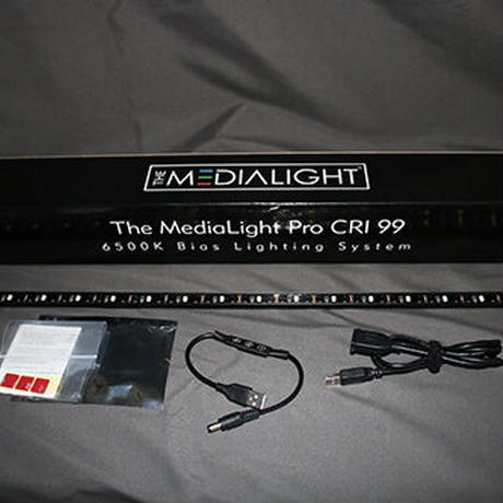 MediaLight Pro Fixture(51cm)  6500K Bias Light. CRI 99