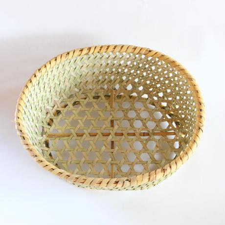 茶碗かご 楕円 (中)