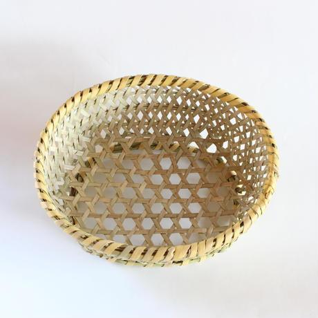 茶碗かご 楕円 (小)