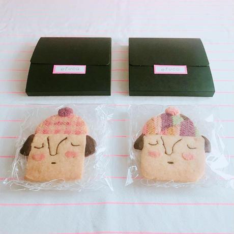 カオクッキー(クッキー1枚、ギフトボックス入り)