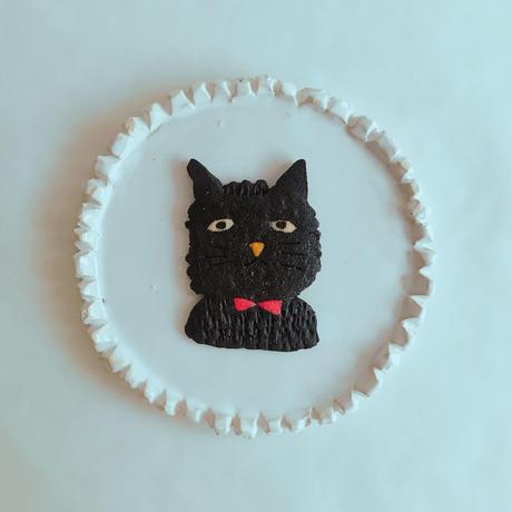 blackブサネコ(クッキー1枚、ギフトボックス入り)