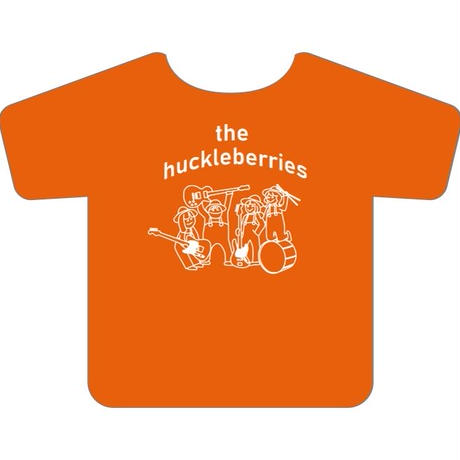 the huckleberries / メンバーイラストTシャツ(オレンジ)