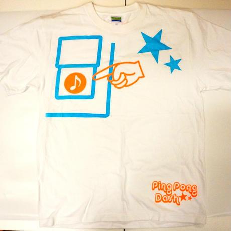 ピンポンTシャツ 白