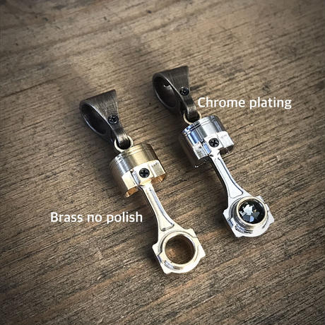 Piston and connecting rod top(chrome)