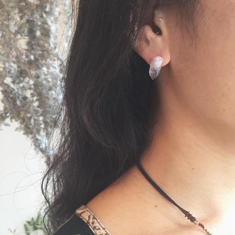 Gem Stone Studs Earring(片耳ピアス)
