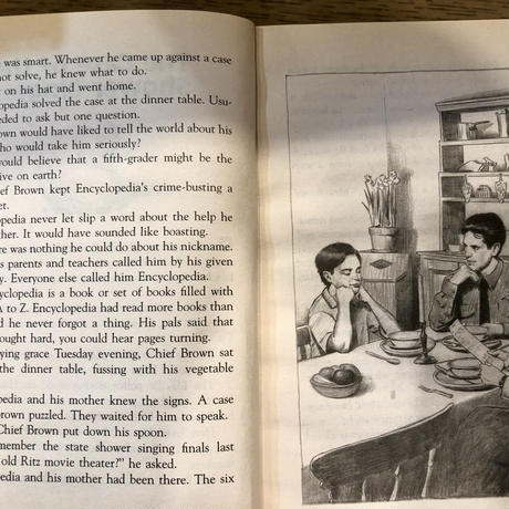 No.15  Encyclopedia Brown and the Case of the Sleeping Dog