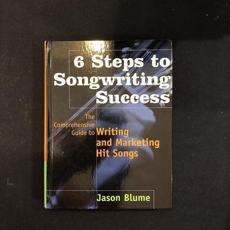 Backstreet Boys の名曲の作曲者JasonBlumeの芽生宛サイン入り作詞ノウハウ本