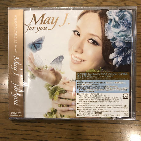 """May J. アルバム """"For You"""""""