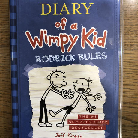"No.2 Diary of a Wimpy Kid  Book 2  ""Rodrick rules""  ハードカバー 高級保存版"
