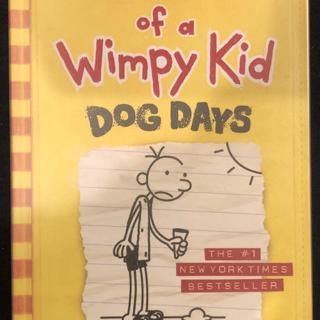 No.5 Diary of a Wimpy Kid  Dog Days ハードカバー 高級保存版