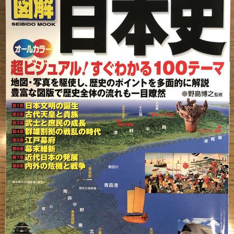 No.3  一冊でわかるイラストでわかる 図解日本史