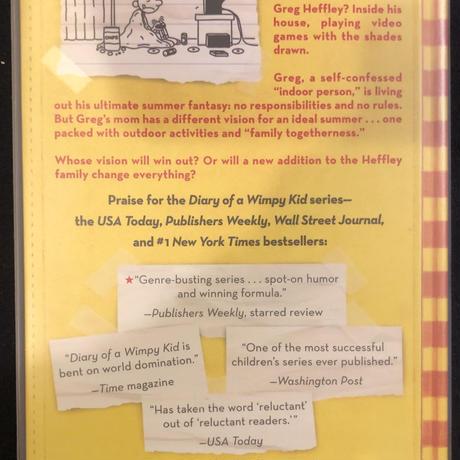 No.5 Diary of a Wimpy Kid  Dog Days ハードカバー 高級保存版